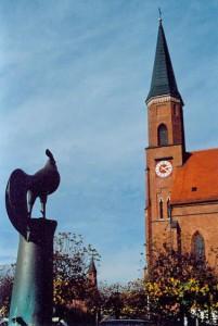 Dorfplatz in Hebertsfelden