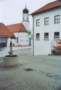 Dorfplatz in Niedernkirchen