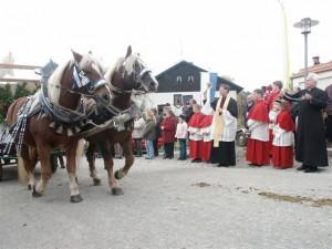 Leonhardiumritt in Niedernkirchen