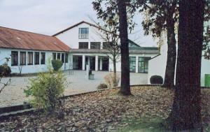 Pausenhof der Grund- und Mittelschule Hebertsfelden