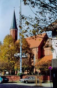 Zunftbaum auf dem Dorfplatz