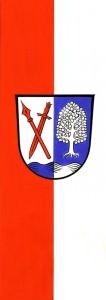 Fahne der Gemeinde Hebertsfelden