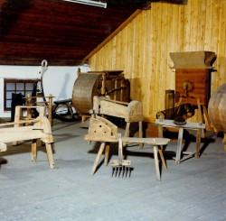 Geräte aus früheren Zeiten zeigt das Heimatmuseum in Hebertfelden