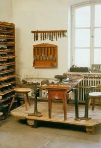 Alte Schusterwerkstatt im Heimatmuseum